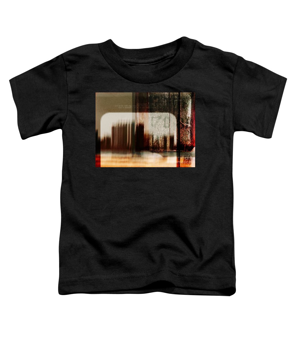 Dipasquale Toddler T-Shirt featuring the photograph That Day In The City When We Lost Track Of Time by Dana DiPasquale