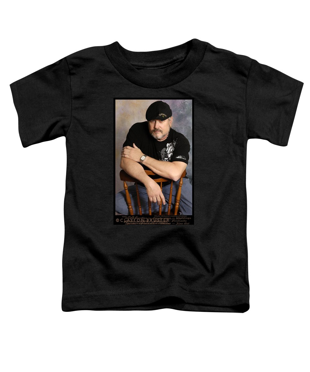 Clay Toddler T-Shirt featuring the photograph The Artist by Clayton Bruster
