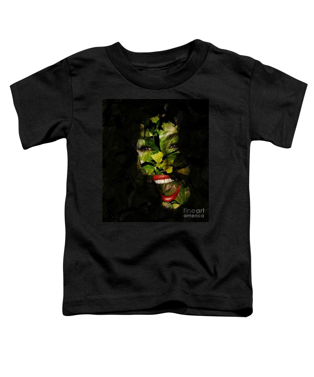 Clay Toddler T-Shirt featuring the photograph The Eyes Of Ivy by Clayton Bruster
