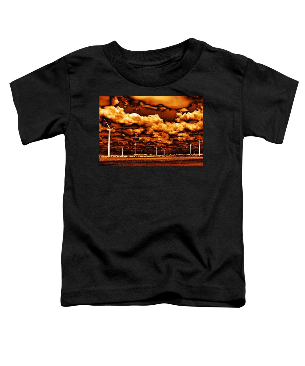 Sky Toddler T-Shirt featuring the photograph The New Trees by Ed Smith