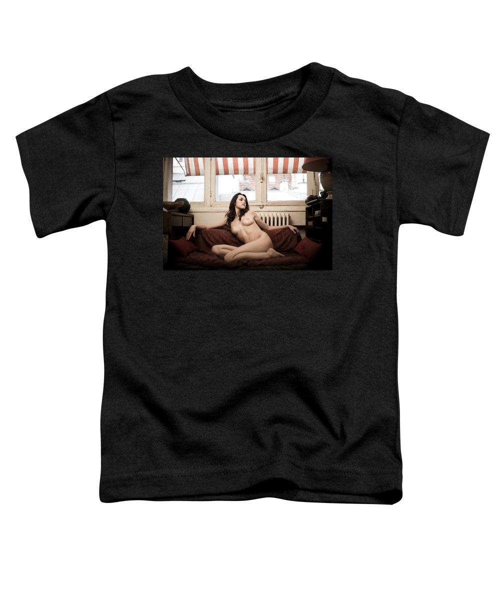 Sensual Toddler T-Shirt featuring the photograph Timeless by Olivier De Rycke