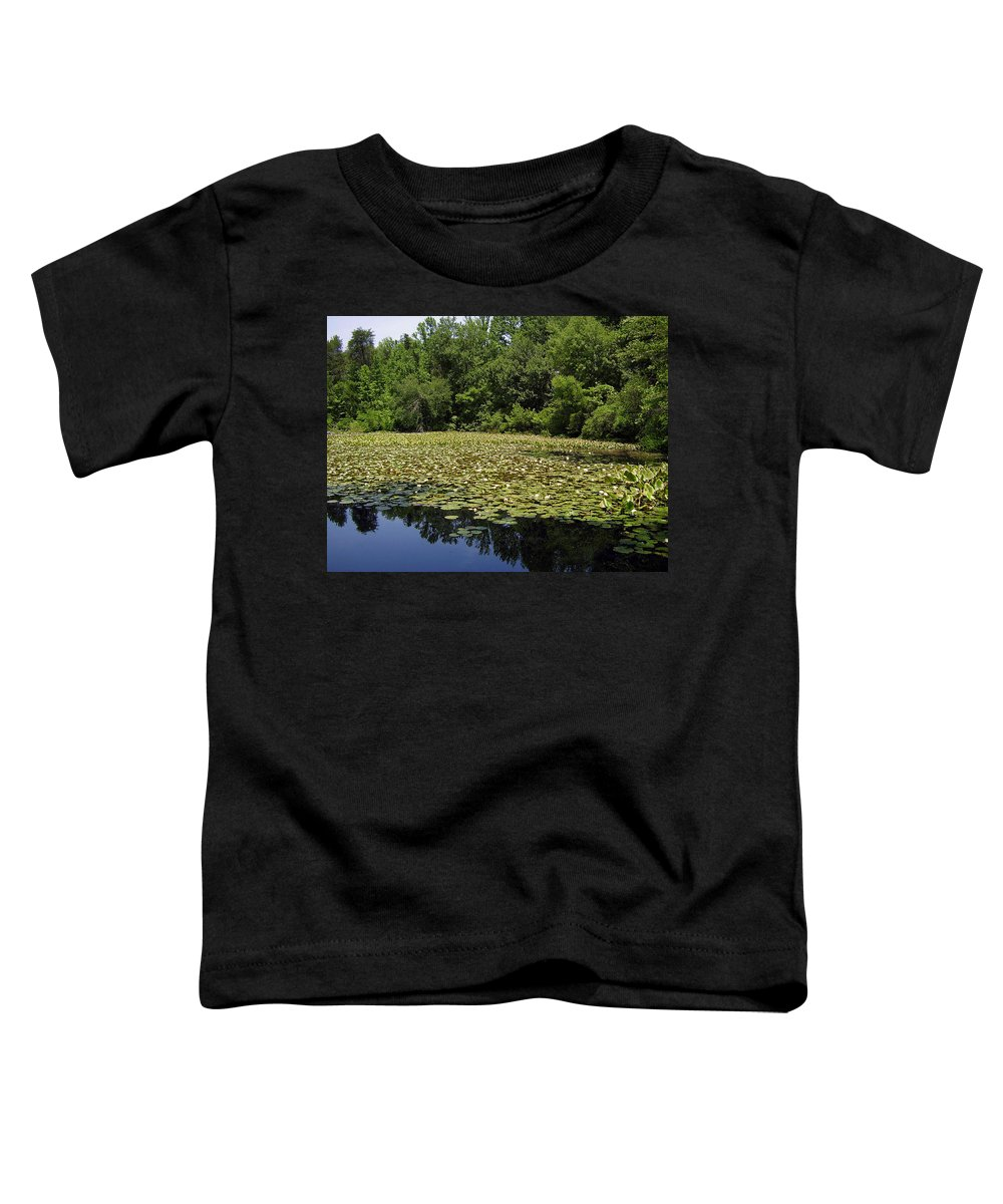Tranquility Toddler T-Shirt featuring the photograph Tranquility by Flavia Westerwelle