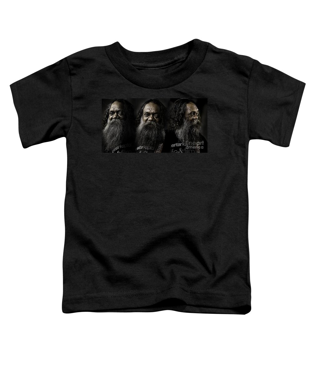Triptych Toddler T-Shirt featuring the photograph Triptych Of Cedric by Avalon Fine Art Photography
