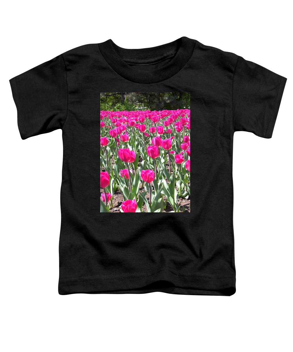Charity Toddler T-Shirt featuring the photograph Tulips by Mary-Lee Sanders