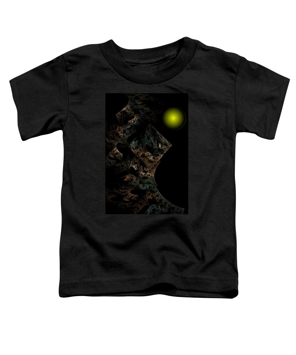 Fantasy Toddler T-Shirt featuring the digital art Untitled 12-18-09 by David Lane