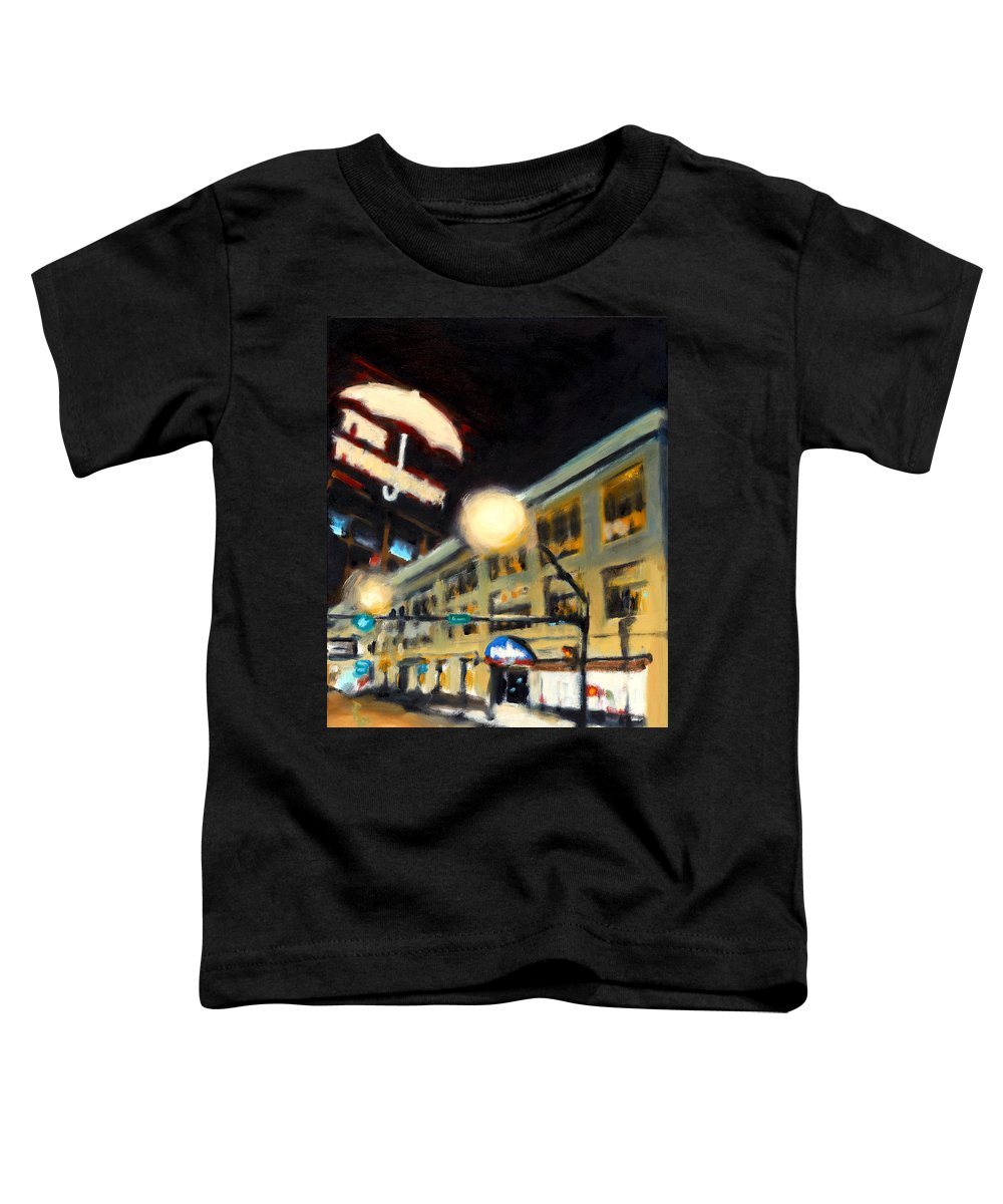 Rob Reeves Toddler T-Shirt featuring the painting Untitled by Robert Reeves