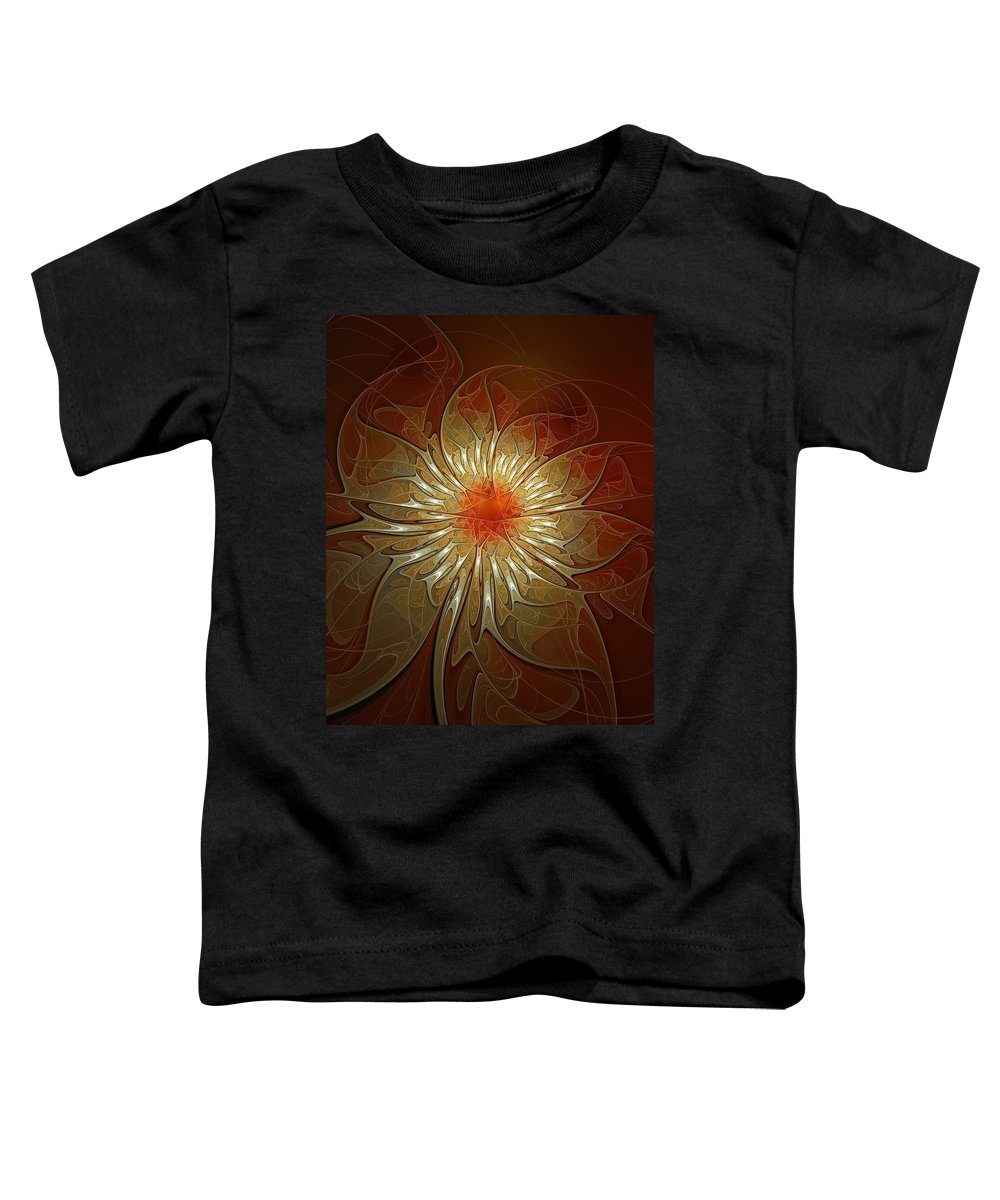 Digital Art Toddler T-Shirt featuring the digital art Vibrance by Amanda Moore