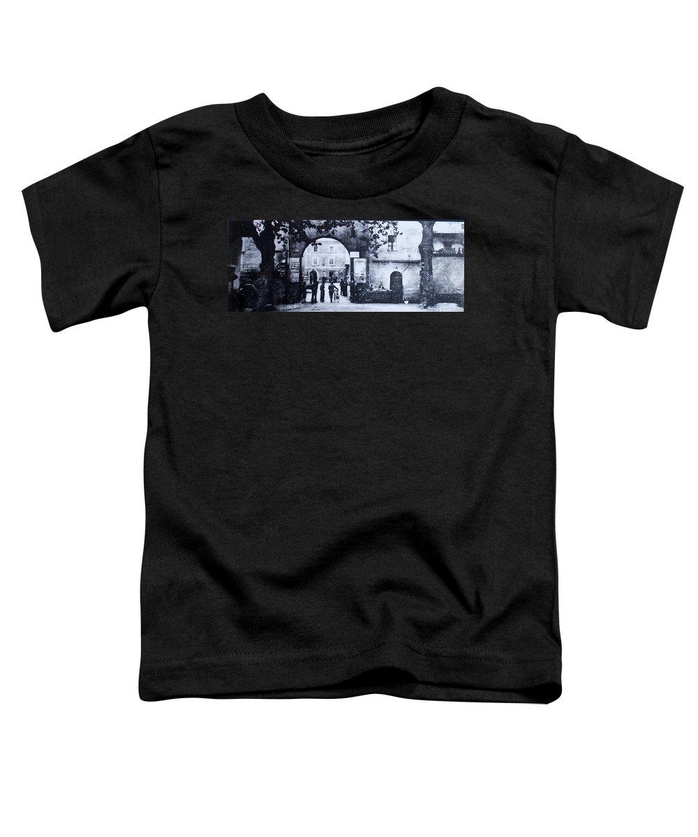 Tuscany Toddler T-Shirt featuring the photograph Villafranca by Kurt Hausmann