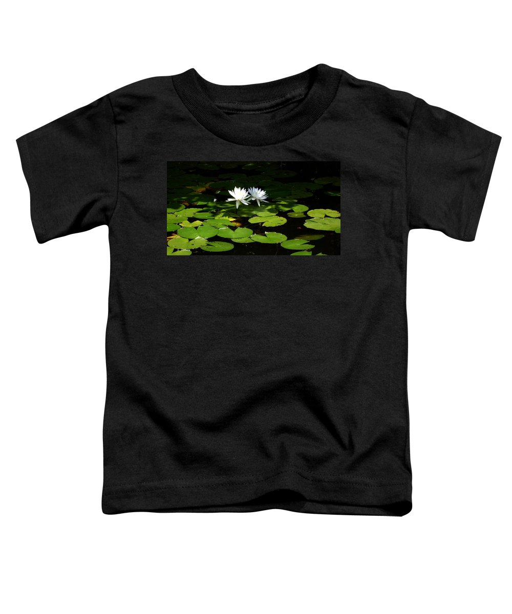 Water Toddler T-Shirt featuring the photograph Wading Fairies by Shelley Jones