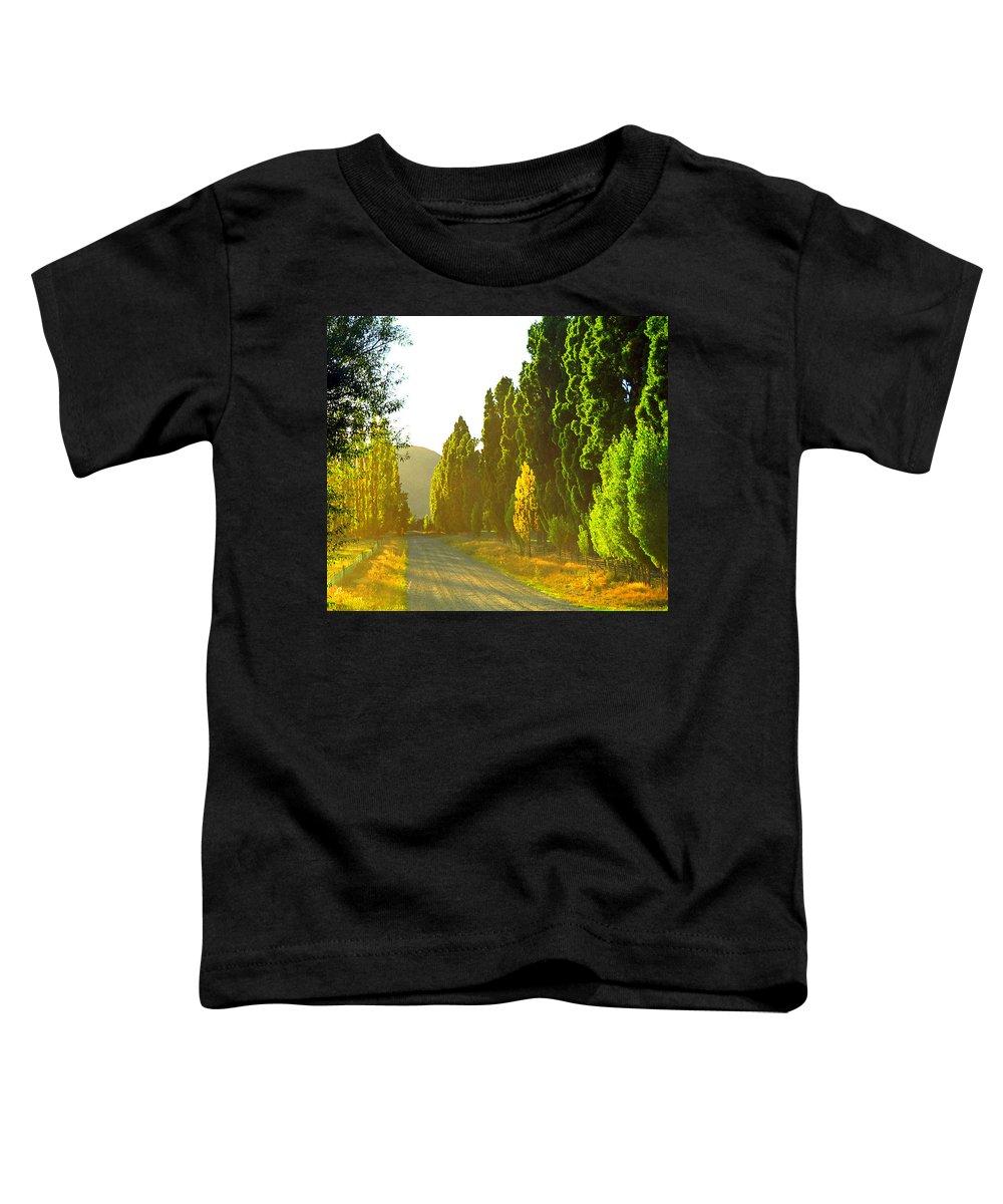 Wanaka Toddler T-Shirt featuring the photograph Wanaka Morning Light by Kevin Smith