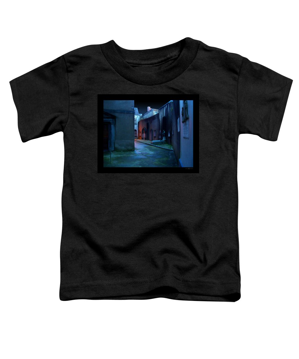 Waterford Toddler T-Shirt featuring the photograph Waterford Alley by Tim Nyberg