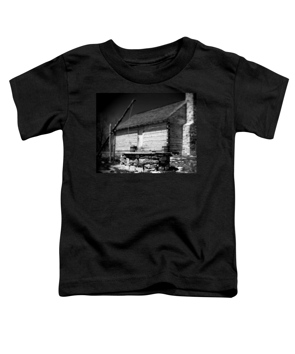 Army Toddler T-Shirt featuring the photograph Way Station French And Indian War by Jean Macaluso