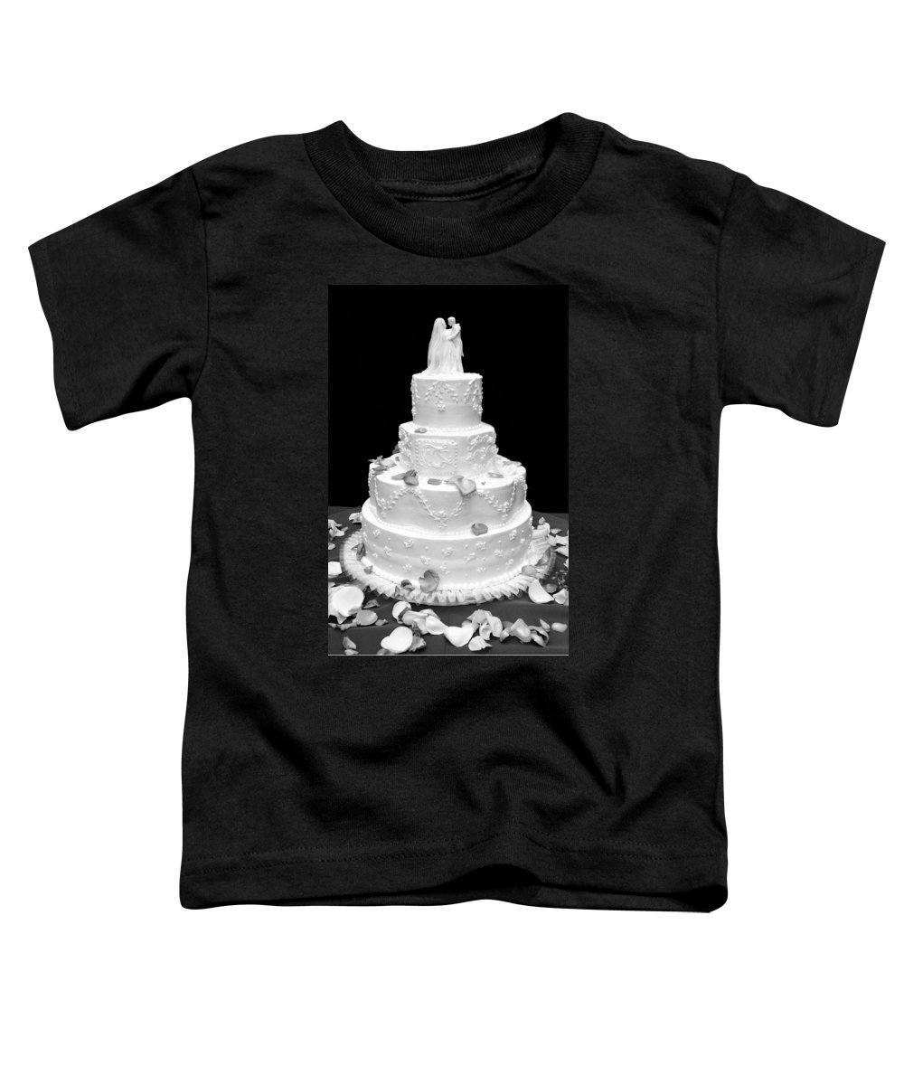 Wedding Toddler T-Shirt featuring the photograph Wedding Cake by Marilyn Hunt