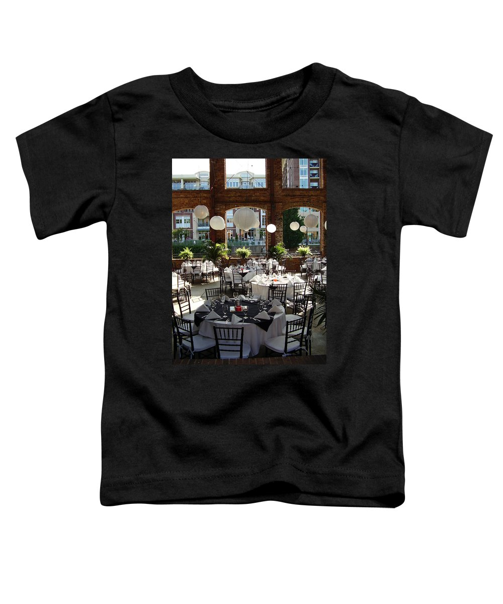 Markley Carriage Toddler T-Shirt featuring the photograph Wedding by Flavia Westerwelle