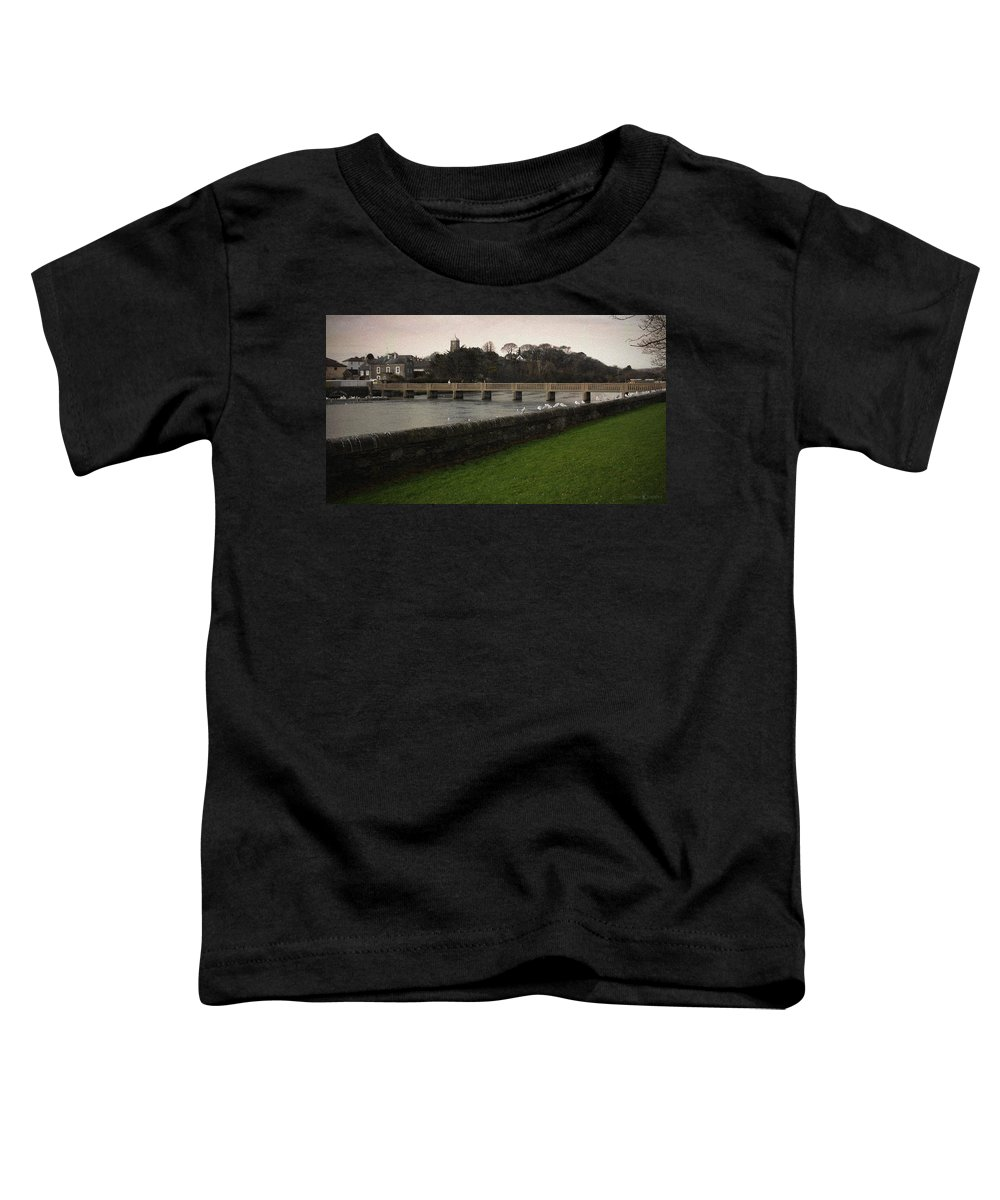 Footbridge Toddler T-Shirt featuring the photograph Wicklow Footbridge by Tim Nyberg
