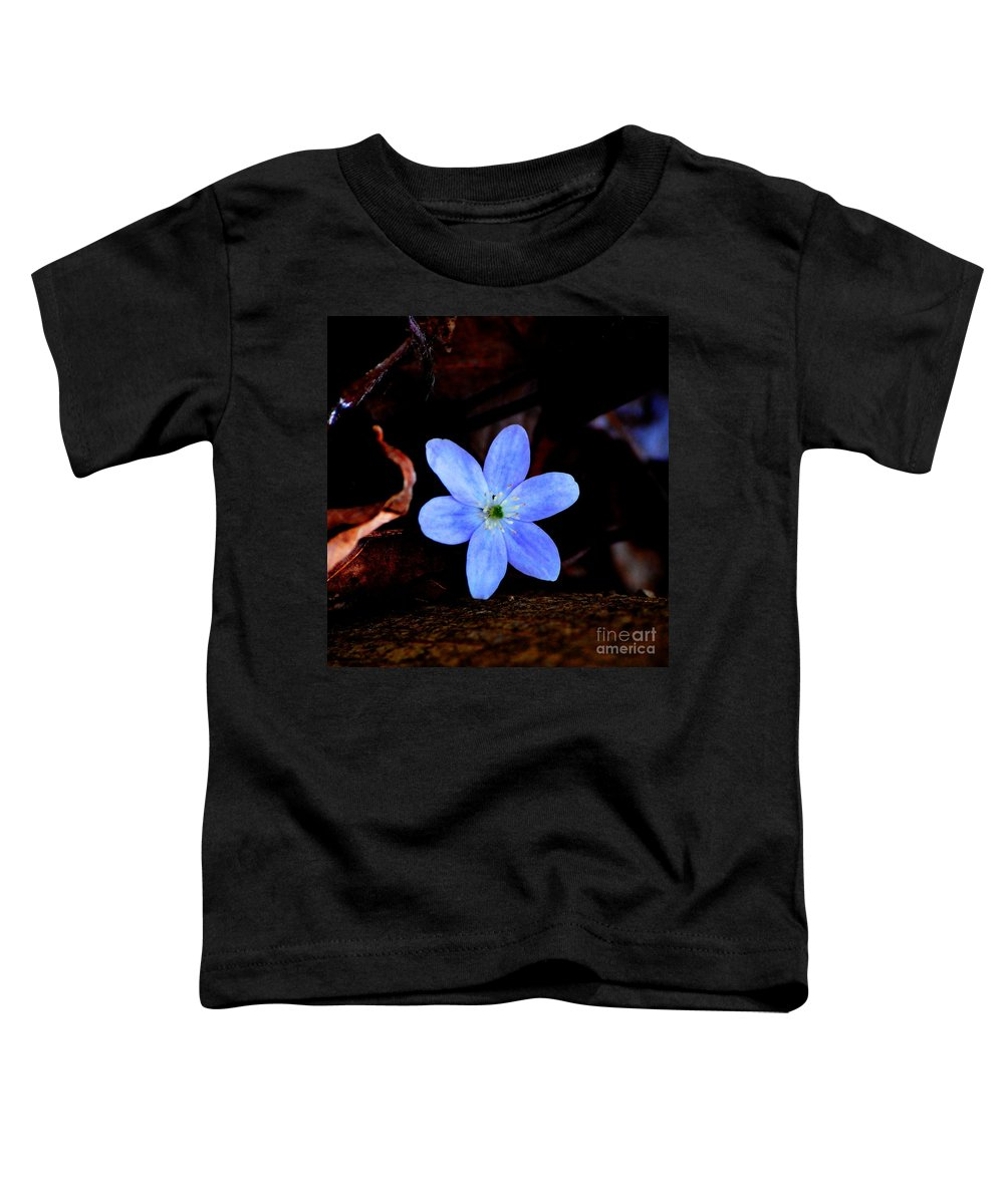 Digital Photo Toddler T-Shirt featuring the photograph Wild Blue by David Lane