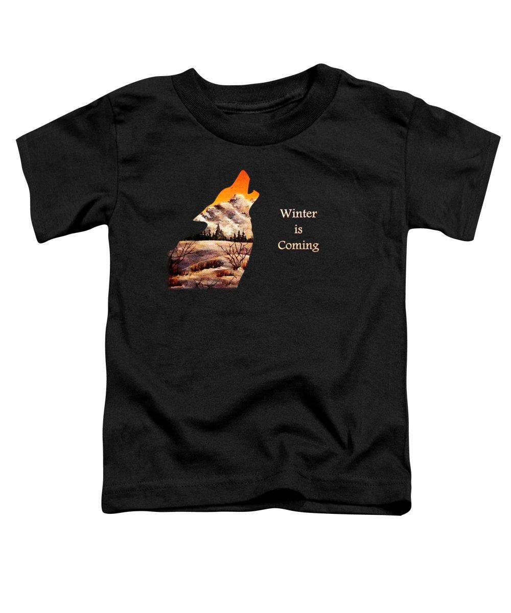 Fractal Toddler T-Shirts