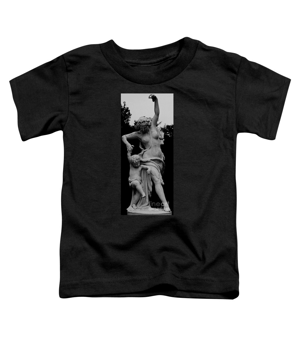 Figurative Toddler T-Shirt featuring the painting Woman Statue by Eric Schiabor