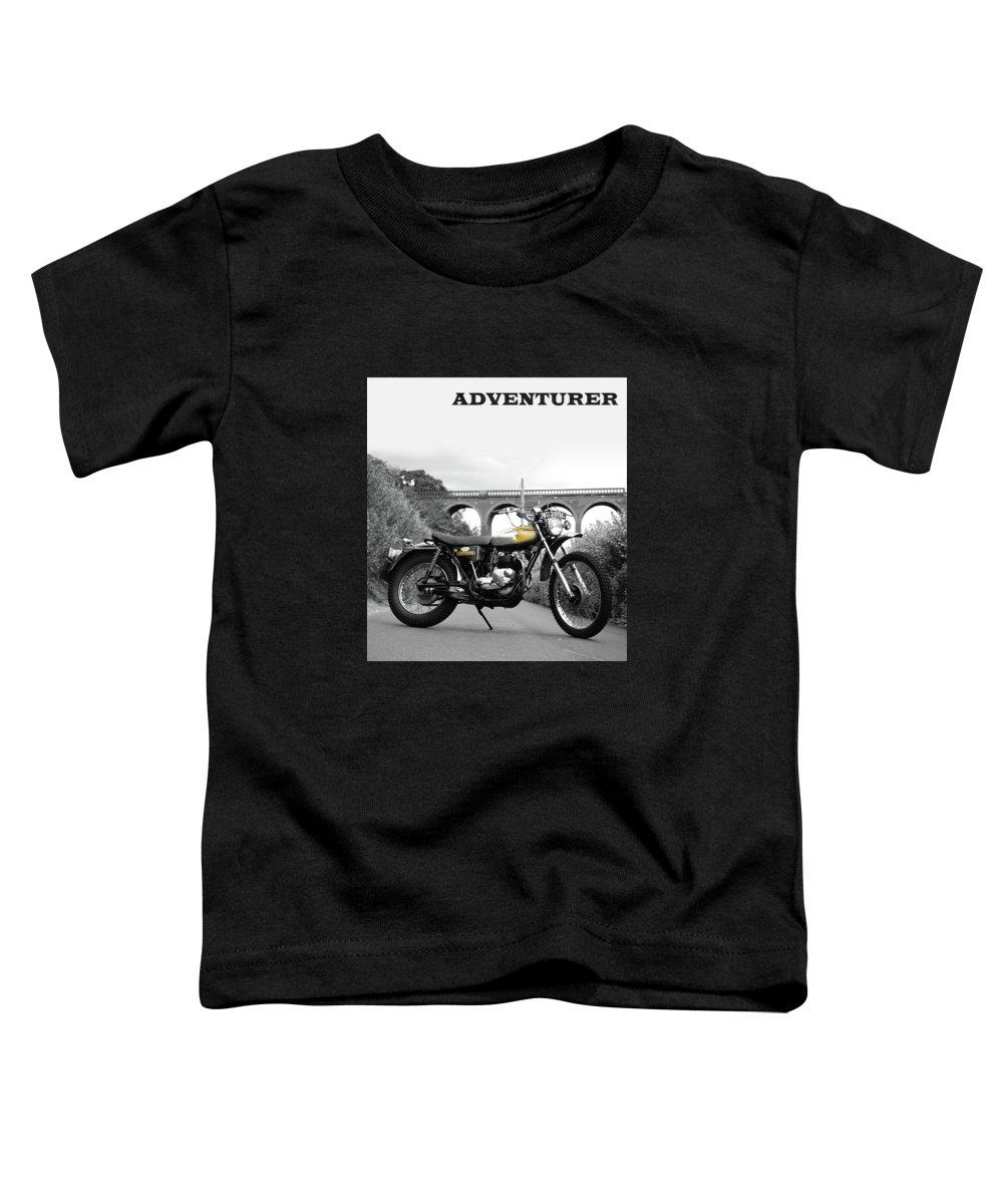 Adventurer Tr5t Toddler T-Shirt featuring the photograph Adventurer Tr5t by Mark Rogan