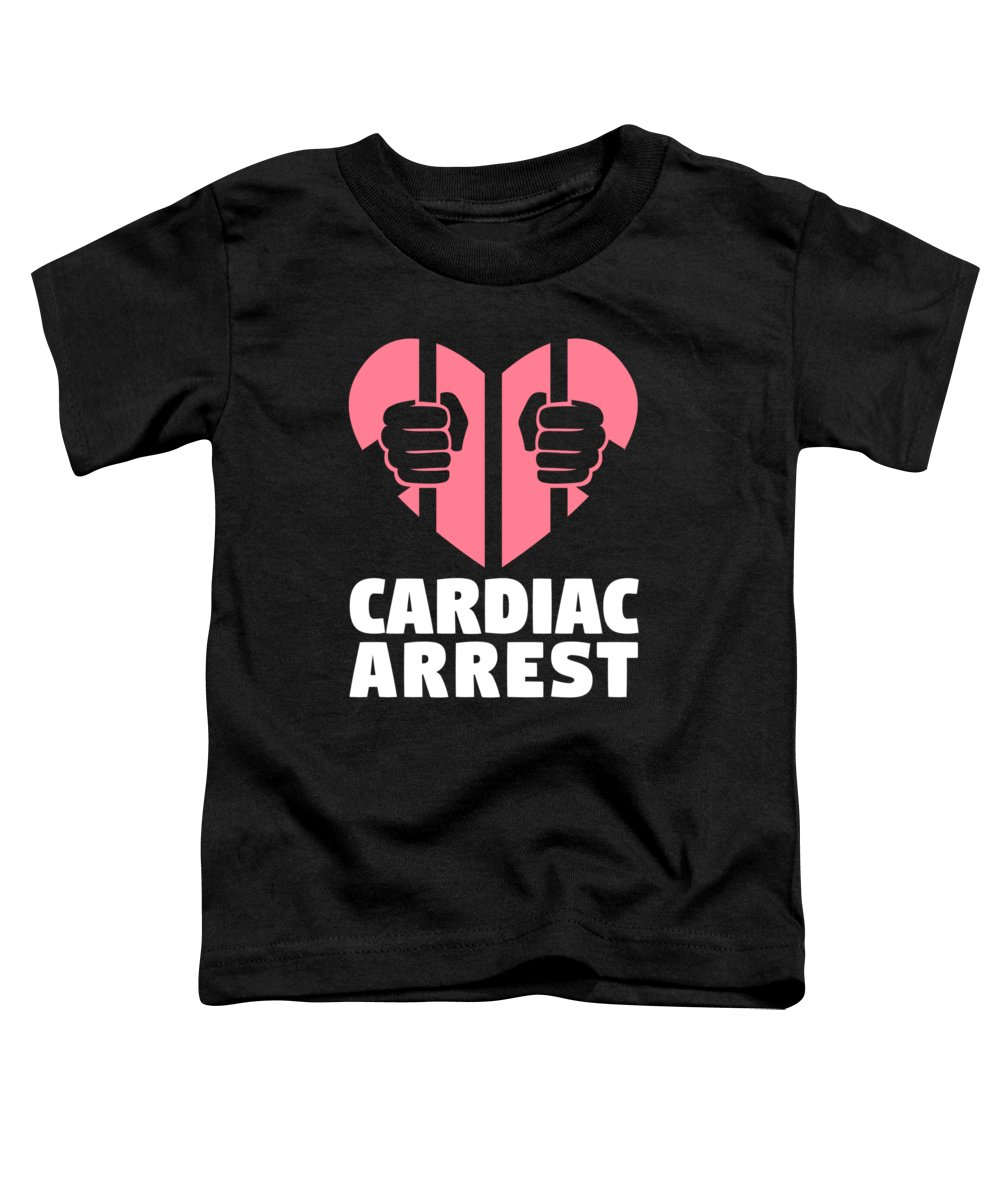 Cardiac Toddler T-Shirts