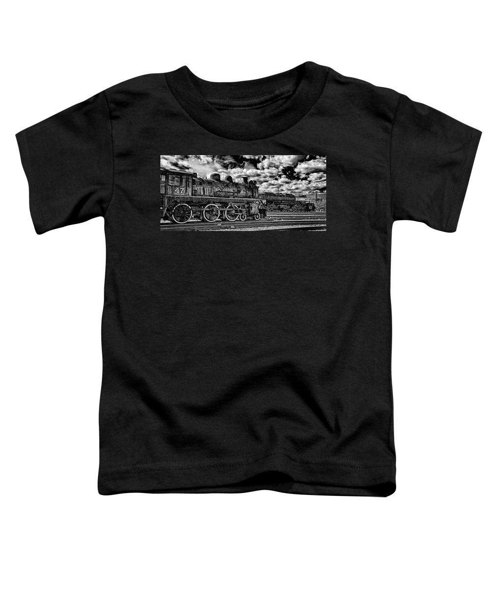 Pan Toddler T-Shirt featuring the photograph Old Number 47 - Pano by Paul W Faust - Impressions of Light