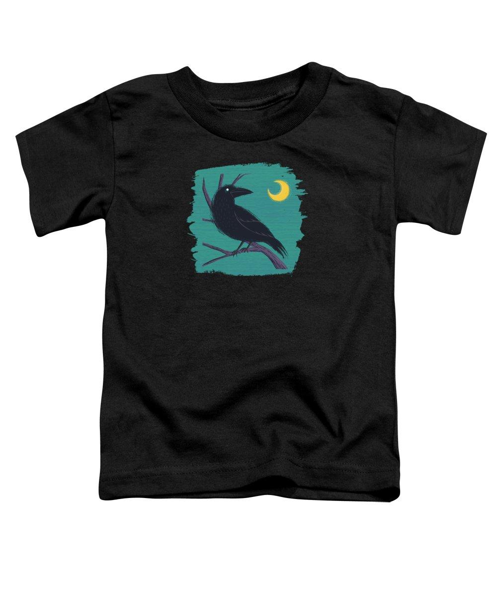 Edgar Allen Poe Toddler T-Shirts