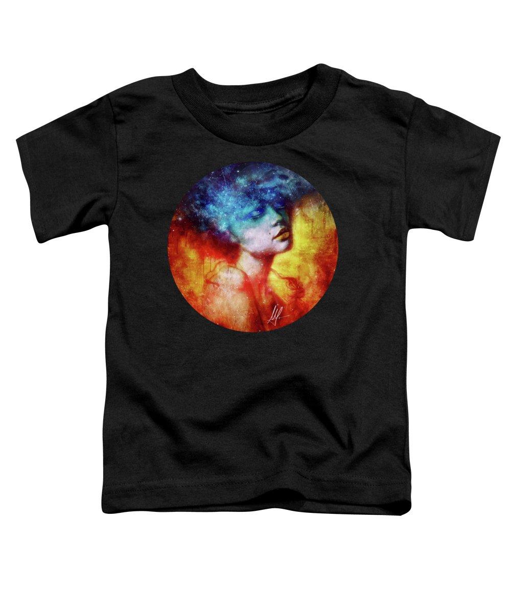 Beautiful Woman Toddler T-Shirts