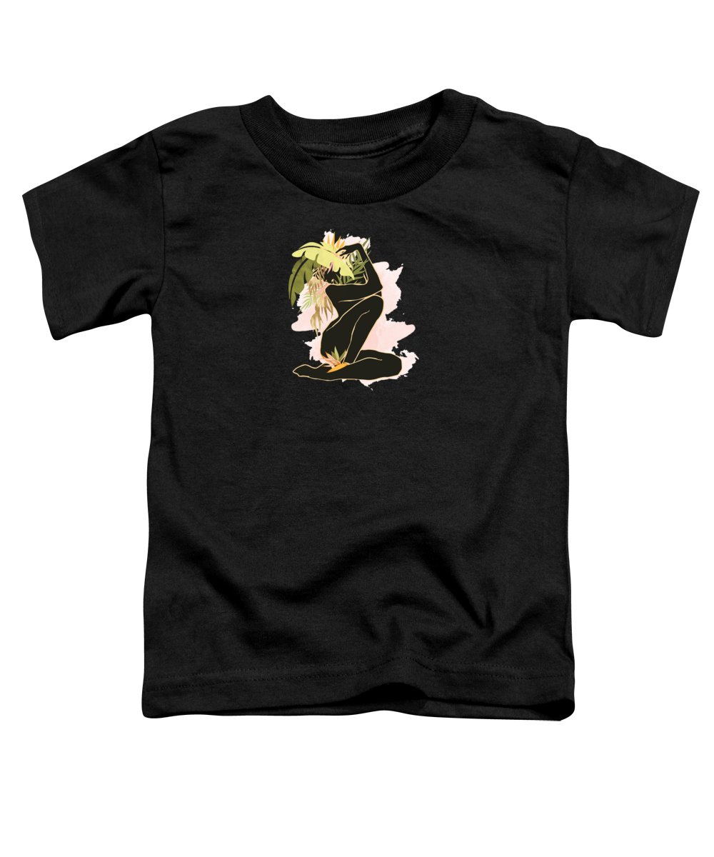 Tropical Plant Toddler T-Shirts