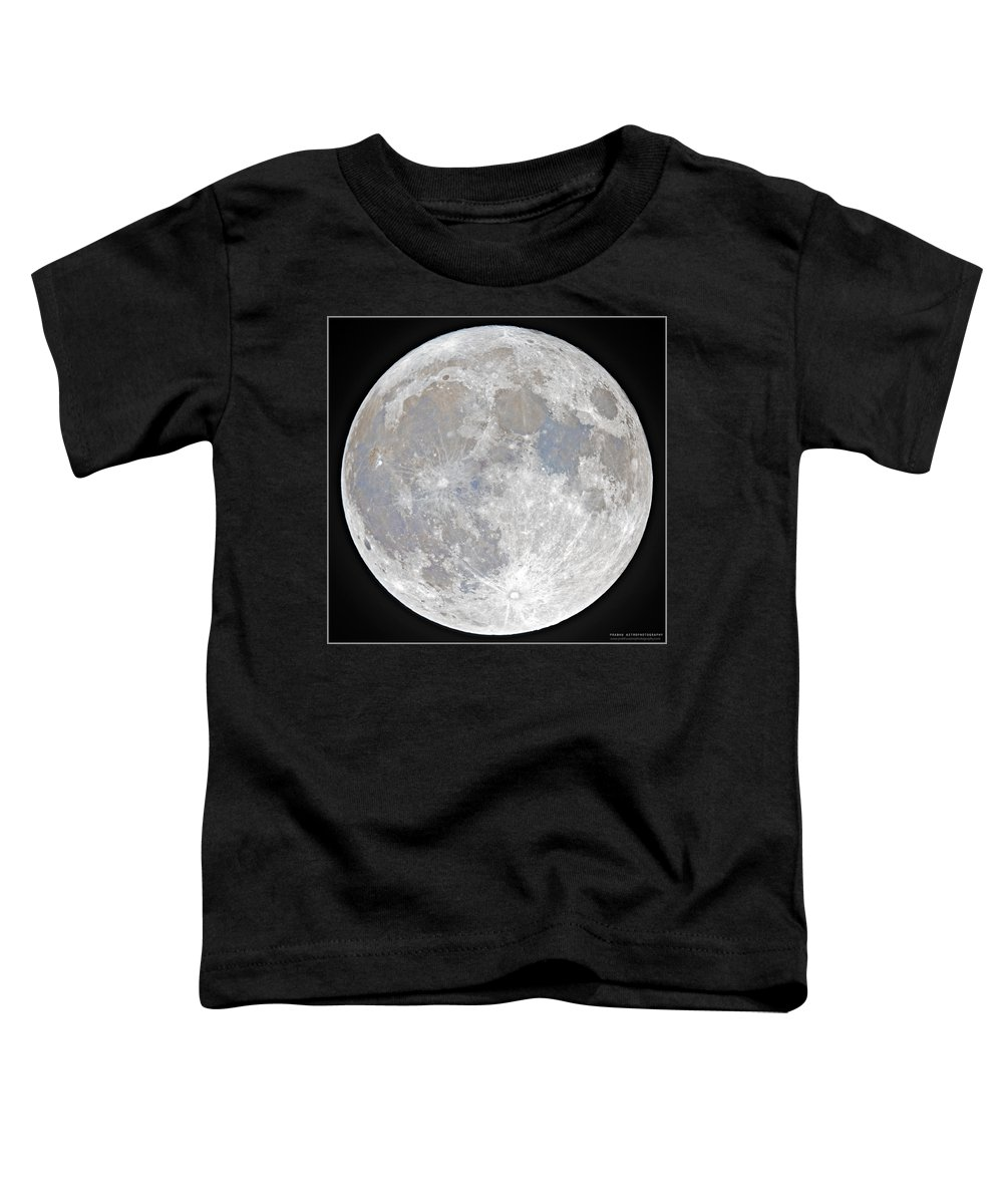 Fullmoon Toddler T-Shirt featuring the photograph October 2020 Halloween Full/Blue Moon by Prabhu Astrophotography