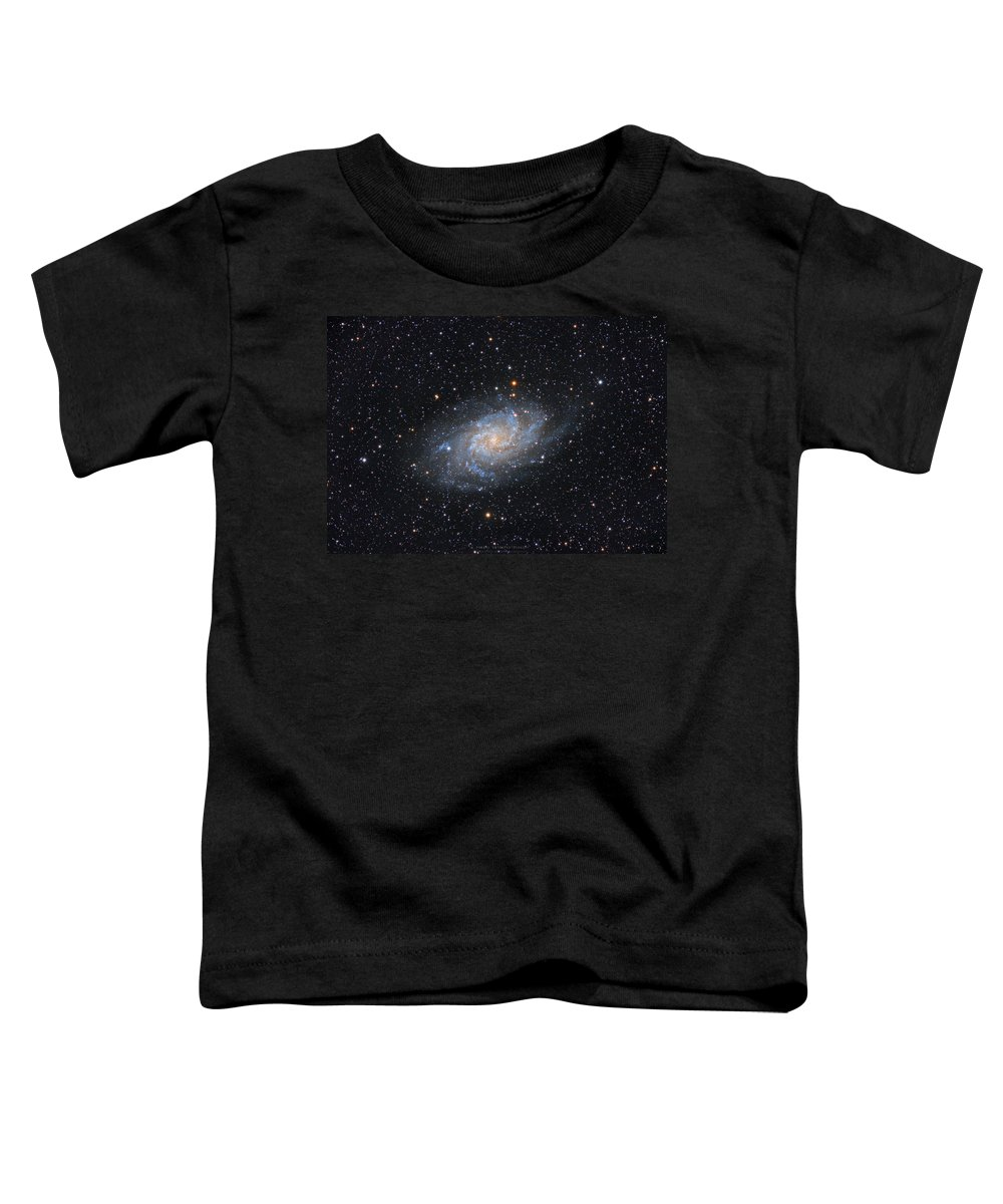 Galaxy Toddler T-Shirt featuring the photograph Triangulum Galaxy by Prabhu Astrophotography