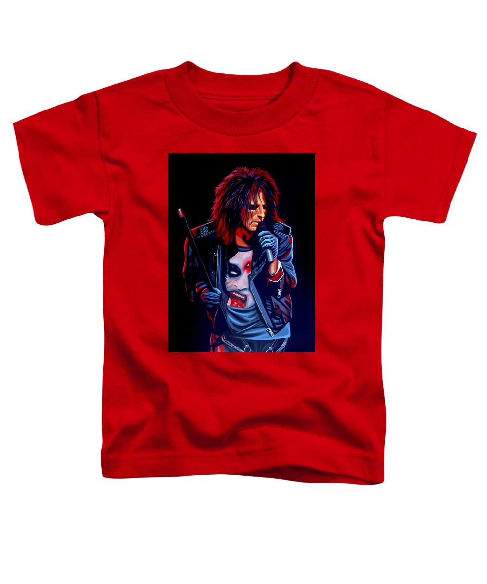 Alice Cooper Toddler T-Shirts