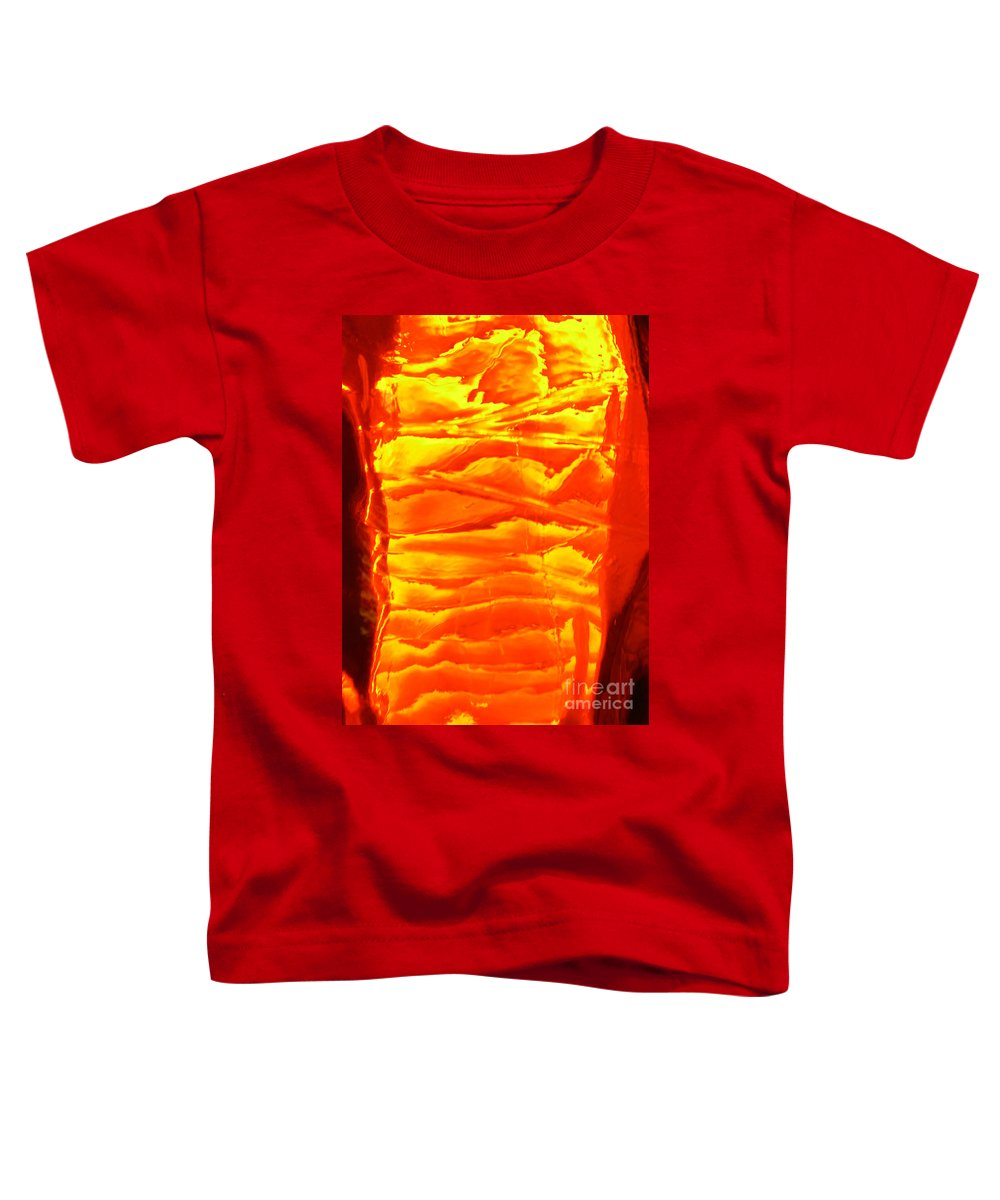 Orange Toddler T-Shirt featuring the photograph Abstract Orange by Amanda Barcon