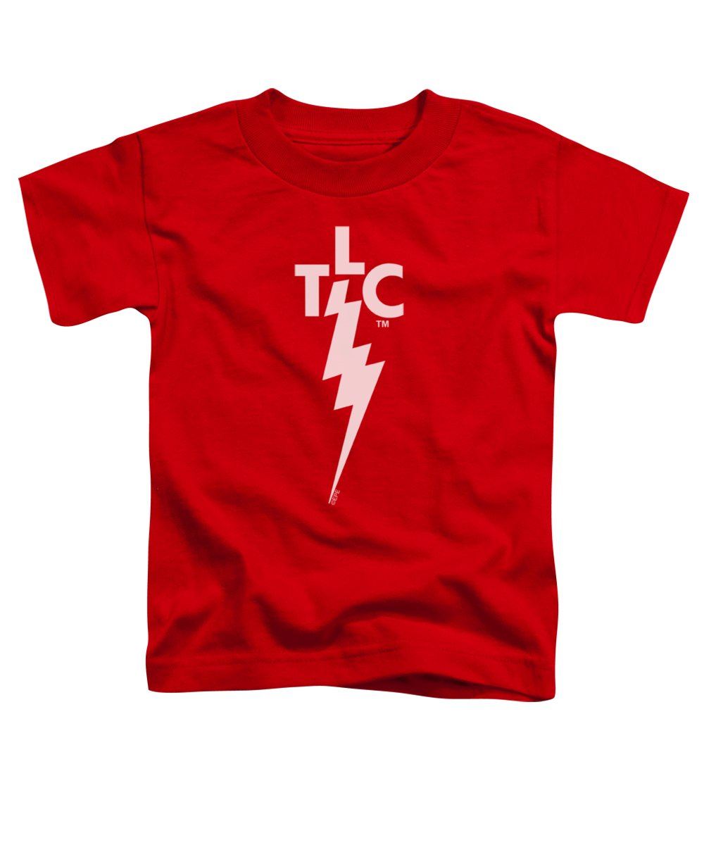 Elvis Toddler T-Shirt featuring the digital art Elvis - Tlc Logo by Brand A