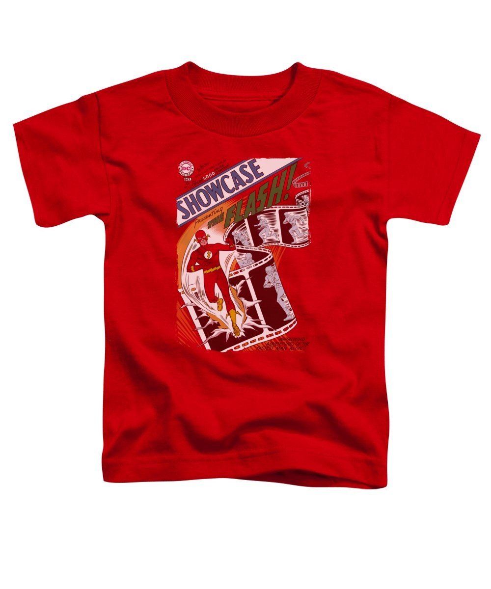 Justice League Of America Toddler T-Shirt featuring the digital art Jla - Showcase #4 Cover by Brand A
