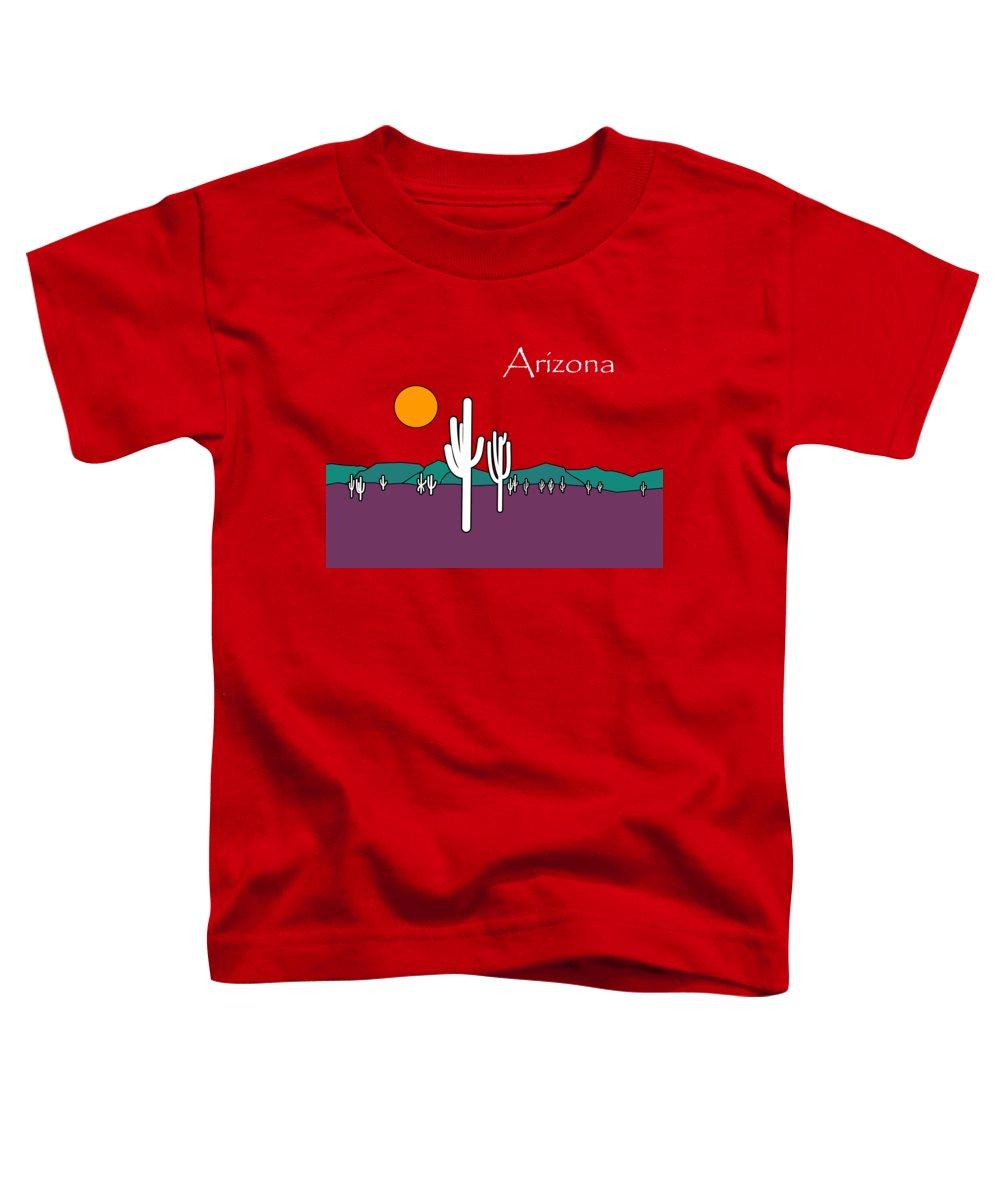 Desert Sunset Toddler T-Shirts