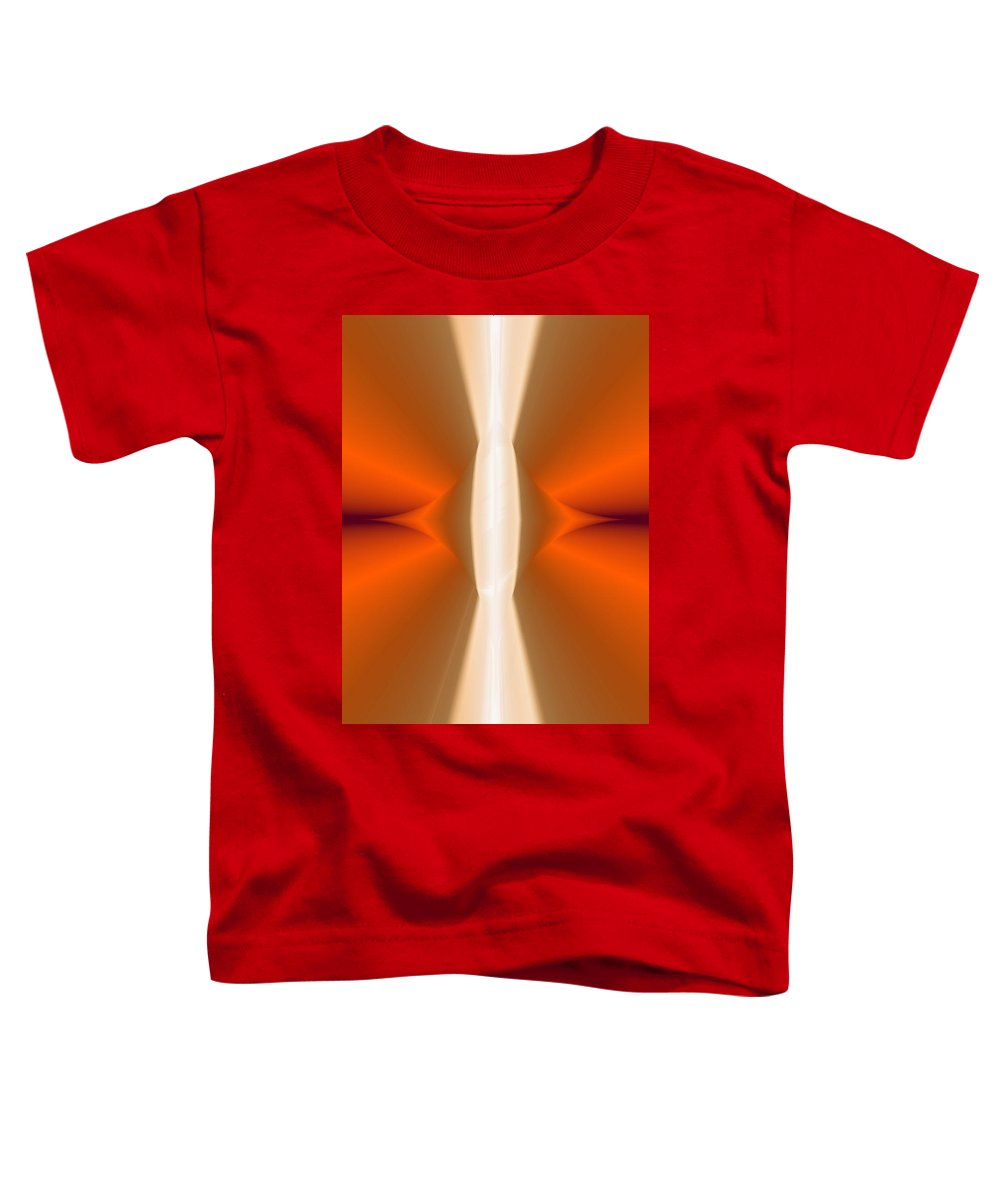 Digital Painting Toddler T-Shirt featuring the digital art Abstract309b by David Lane