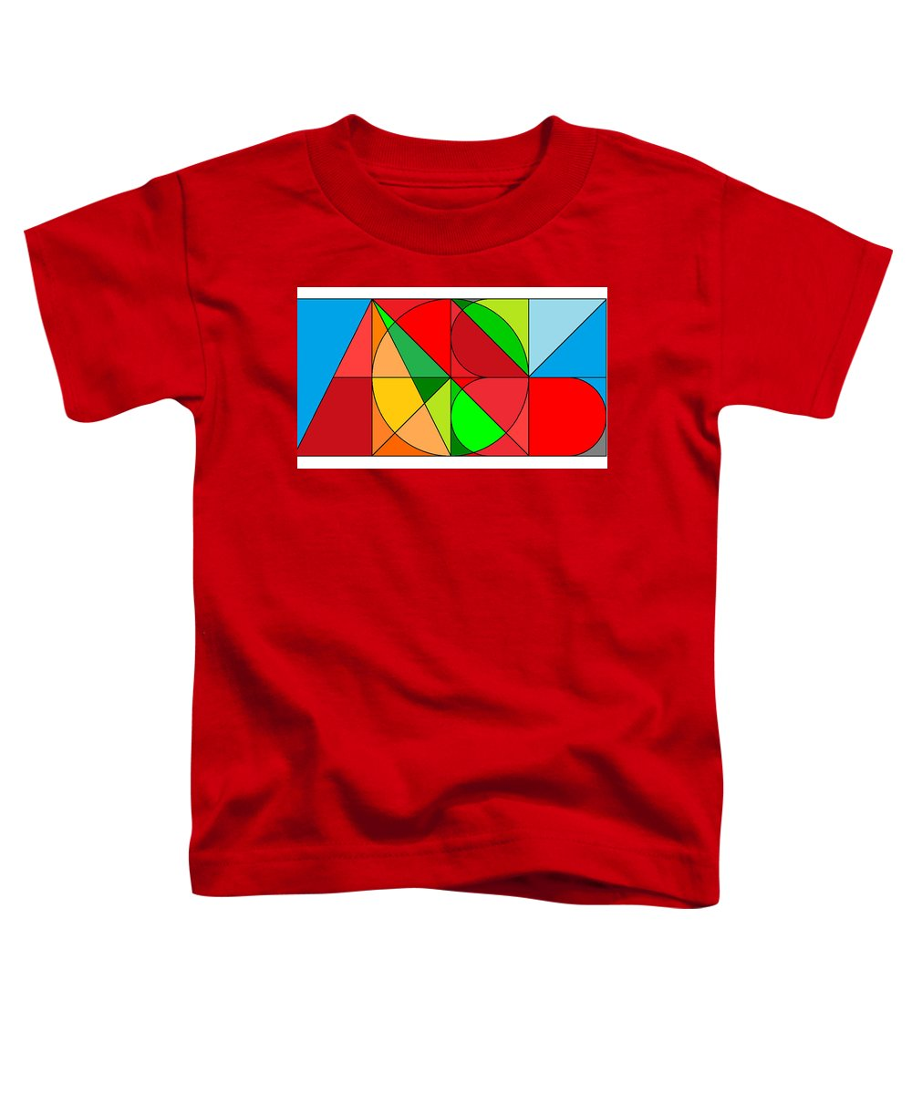 Toddler T-Shirt featuring the digital art All Won System by Kenneth A Post