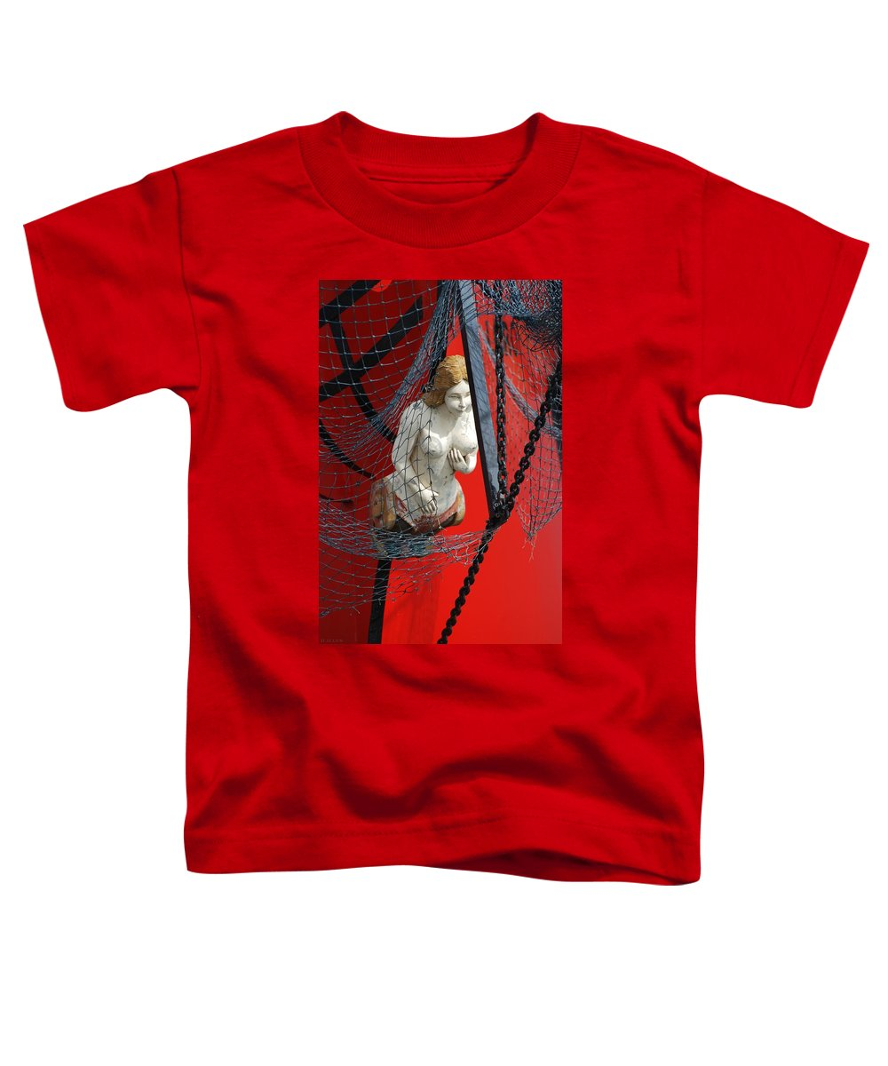Ship Toddler T-Shirt featuring the photograph Angel Of The Seas by Rob Hans
