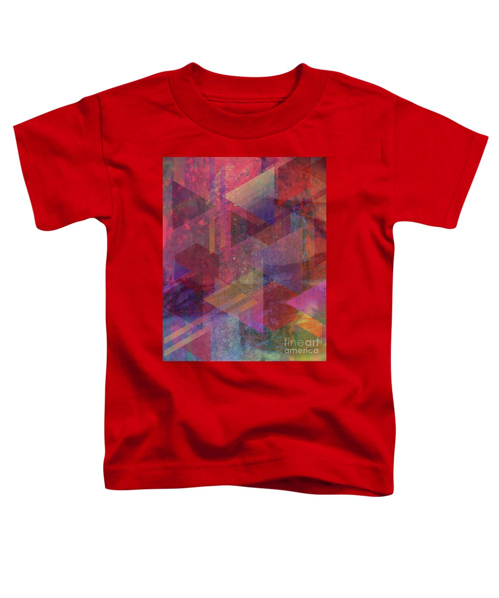 Another Place Toddler T-Shirt featuring the digital art Another Place by John Beck