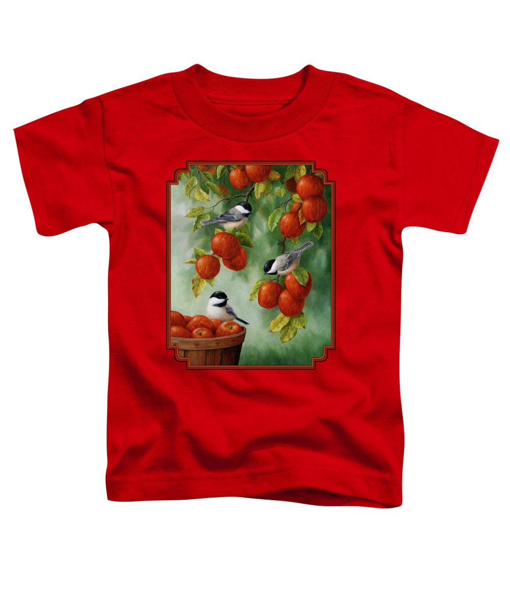 Chickadee Toddler T-Shirts