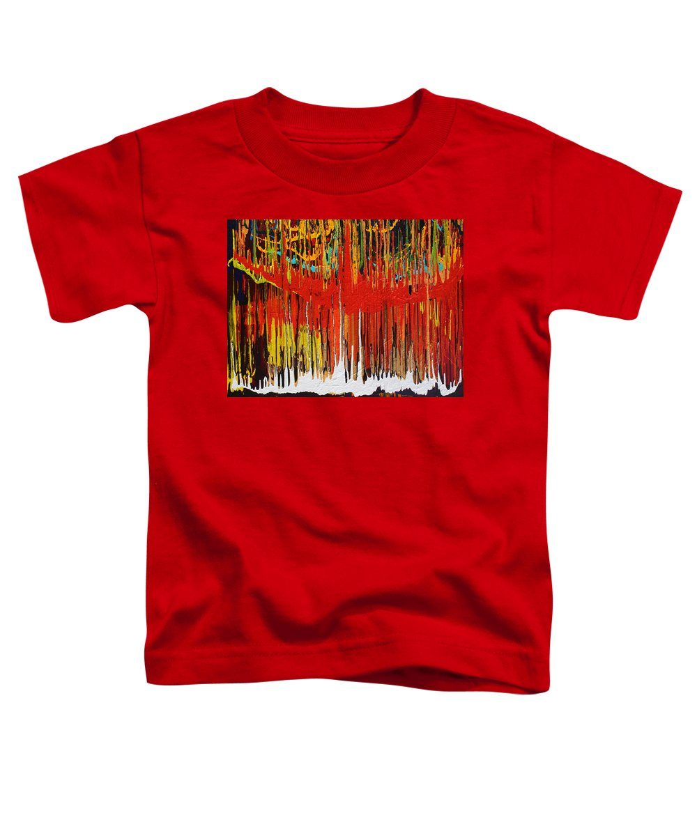 Fusionart Toddler T-Shirt featuring the painting Ascension by Ralph White