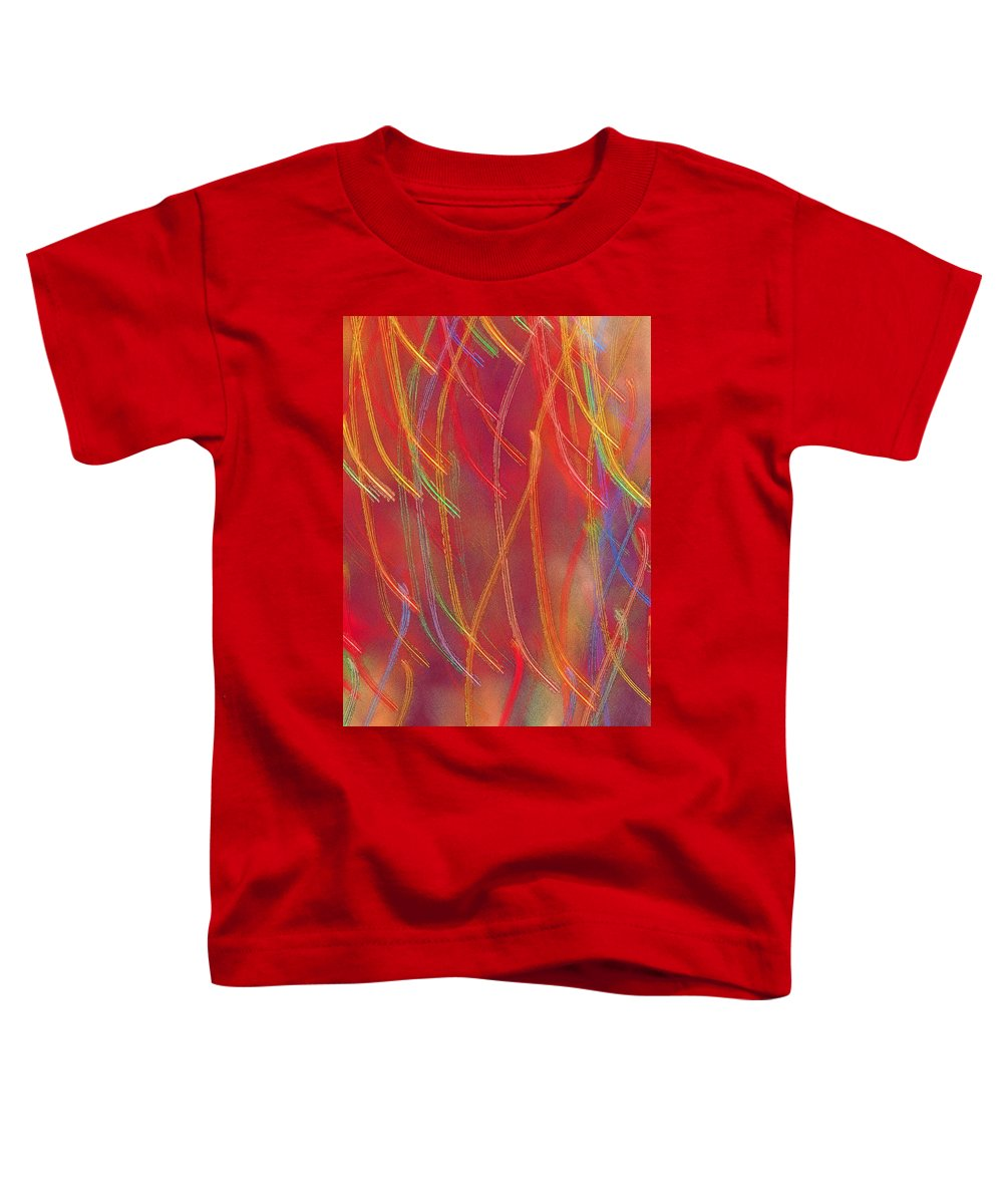 Abstract Toddler T-Shirt featuring the photograph Celebration by Gaby Swanson