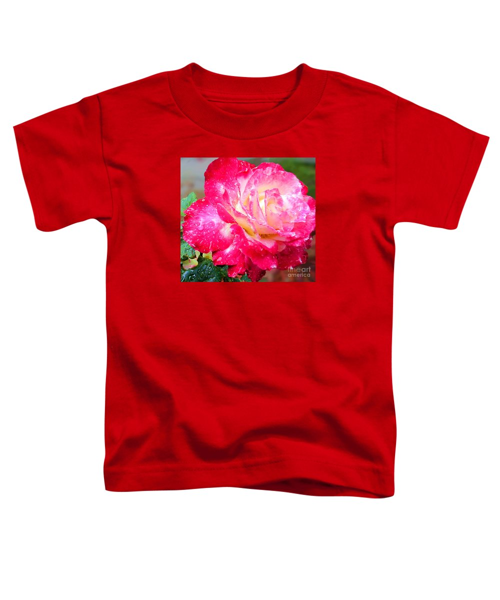 Fine Art Photography Toddler T-Shirt featuring the photograph Double Delight by Patricia Griffin Brett