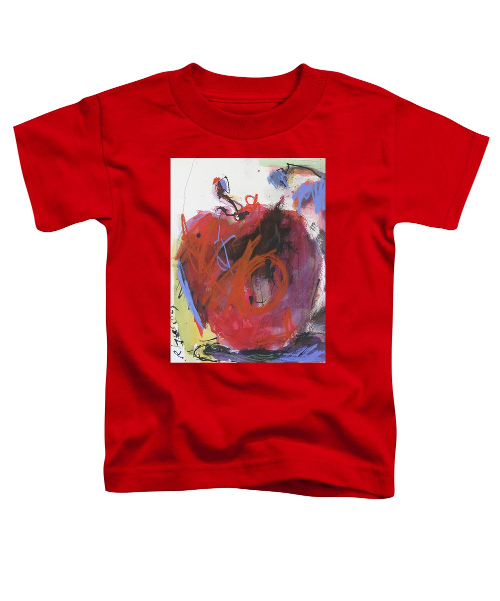 Apple Toddler T-Shirt featuring the painting Dr. Repellent by Robert Joyner