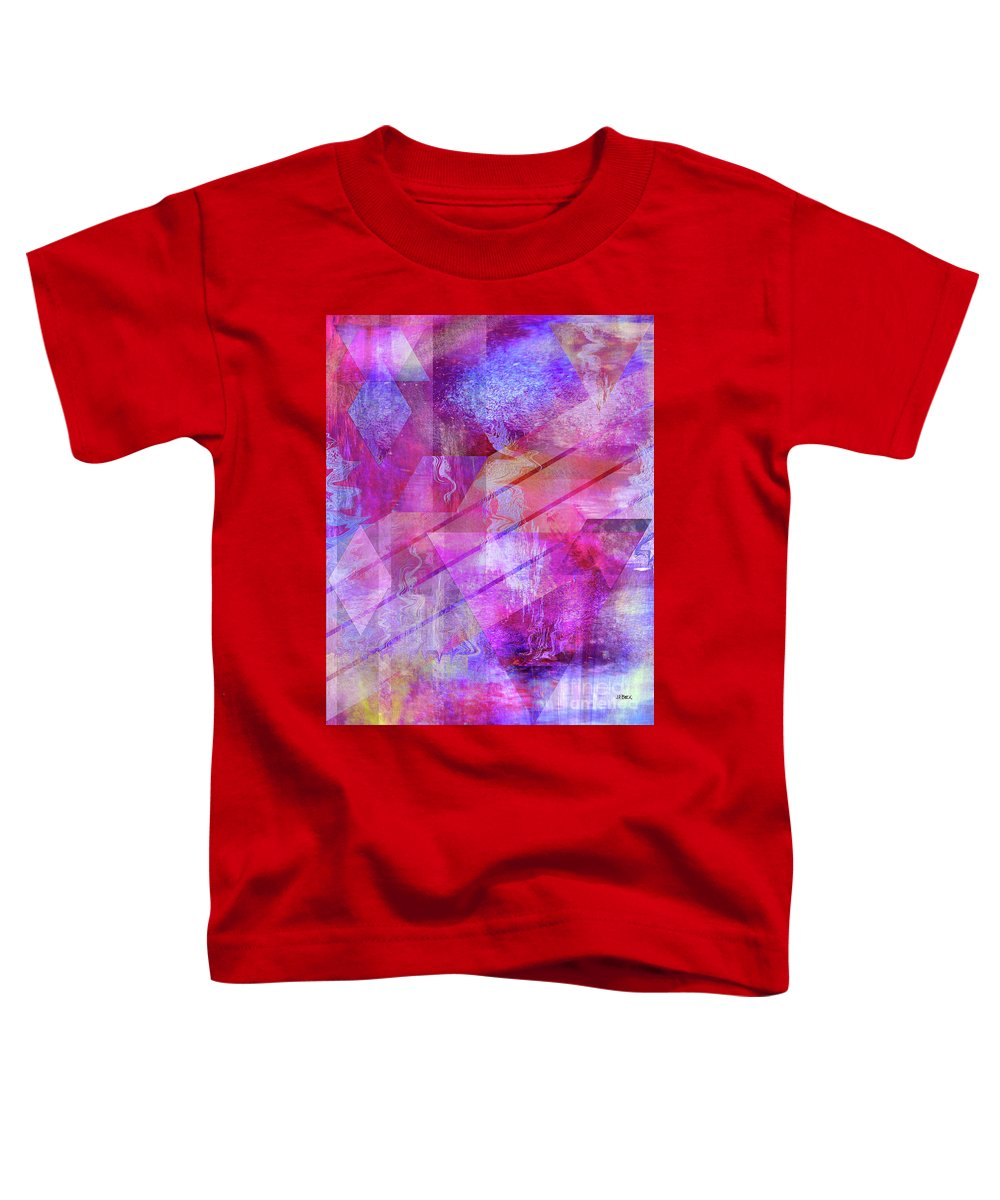 Dragon's Kiss Toddler T-Shirt featuring the digital art Dragon's Kiss by John Beck