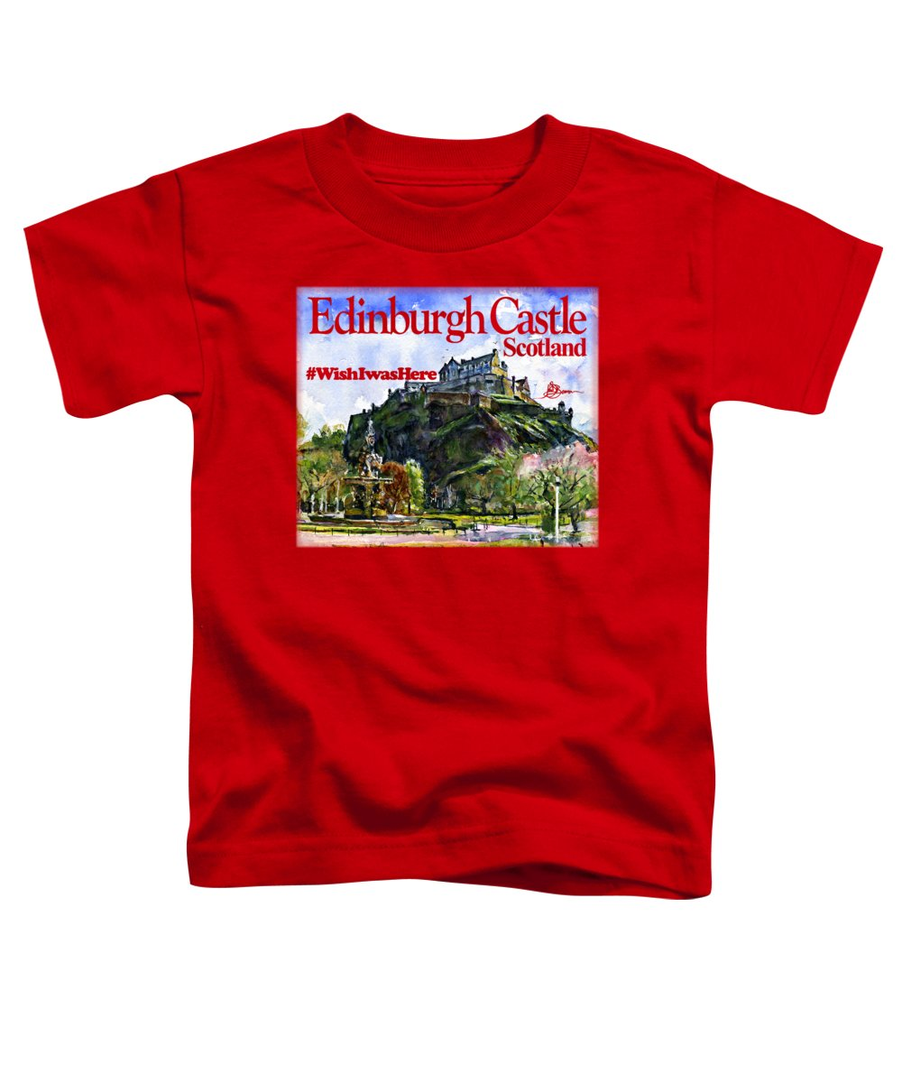 Scotland Toddler T-Shirts