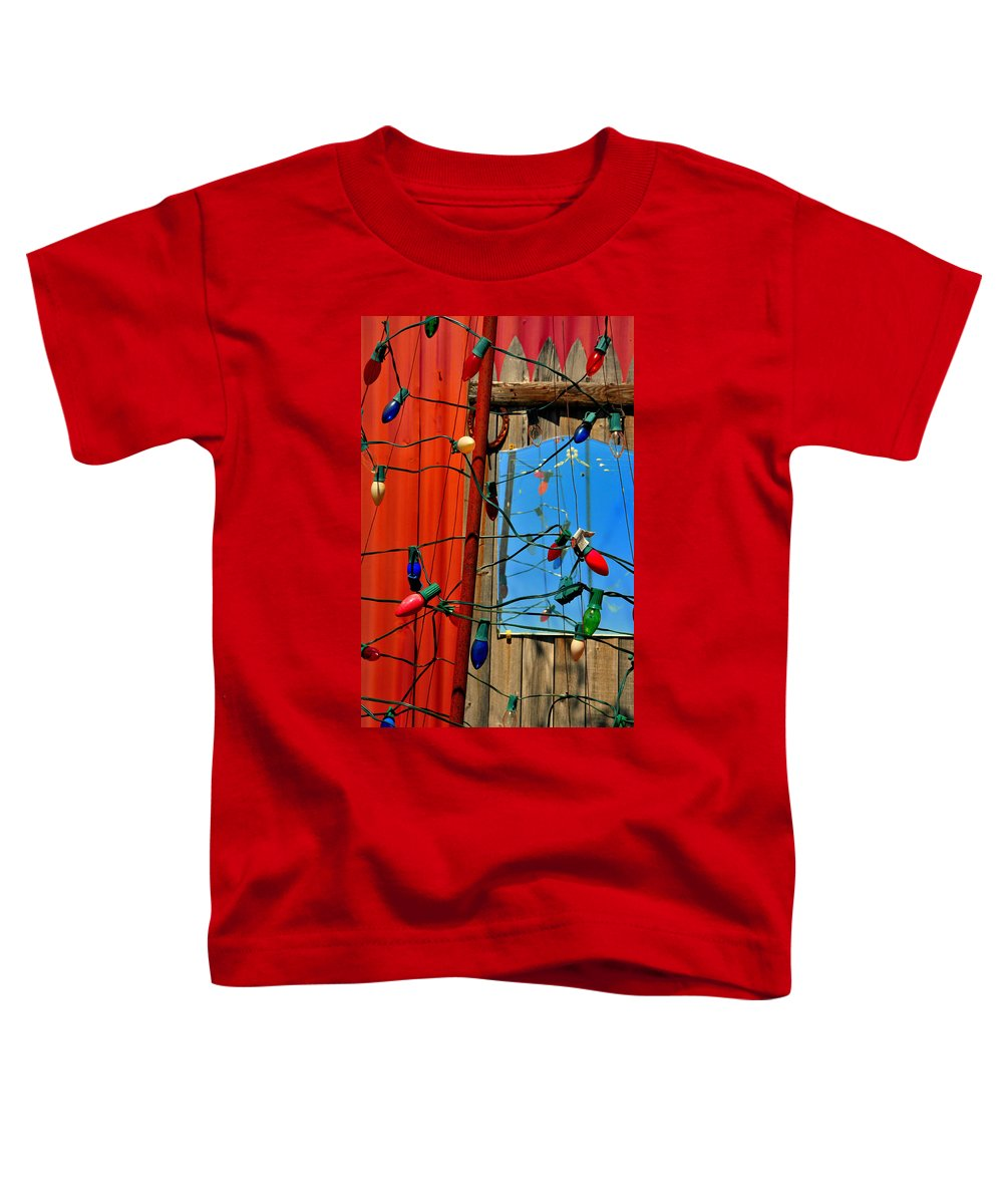 Skip Hunt Toddler T-Shirt featuring the photograph Electric Lady Land by Skip Hunt