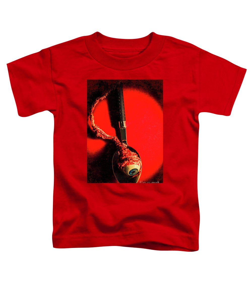 Cannibal Toddler T-Shirt featuring the photograph Eye Fillet by Jorgo Photography - Wall Art Gallery