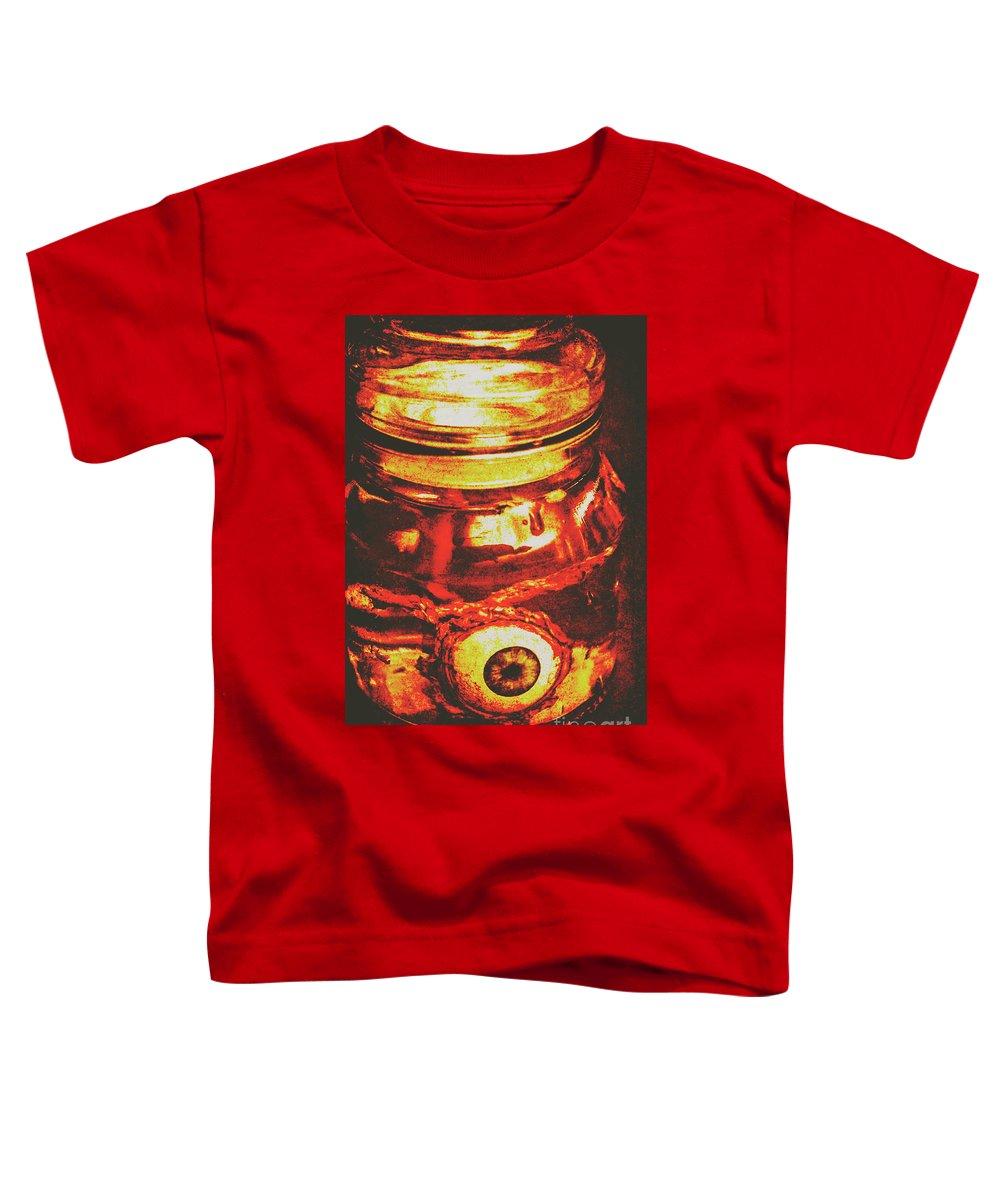 Formaldehyde Toddler T-Shirt featuring the photograph Eyes Of Formaldehyde by Jorgo Photography - Wall Art Gallery