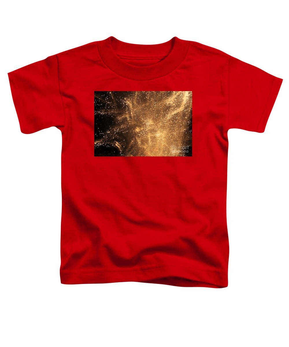 Fireworks Toddler T-Shirt featuring the photograph Fired Up by Debbi Granruth